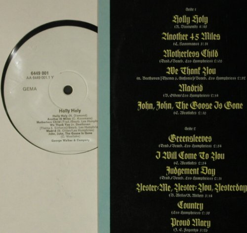 Walker,George & Company: Holly Holy, Mercury(6449 001), D,  - LP - C7659 - 6,00 Euro