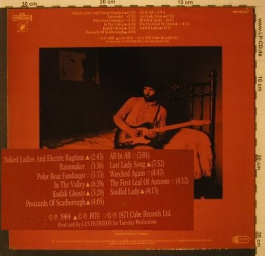 Chapman,Michael: Lived Here 1968-1972, Intercord(146.308), D, 1972 - LP - C7721 - 7,50 Euro