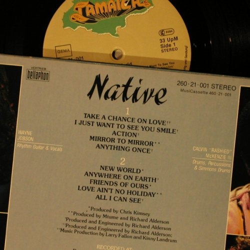 Native: New World, Tamaica / Bellaphon(260 21 001), D, 1984 - LP - C7783 - 5,00 Euro
