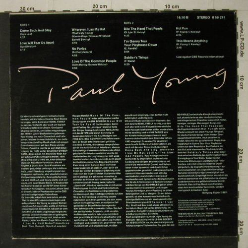 Young,Paul: Same, Amiga(8 56 271), DDR, 1987 - LP - C7792 - 5,00 Euro
