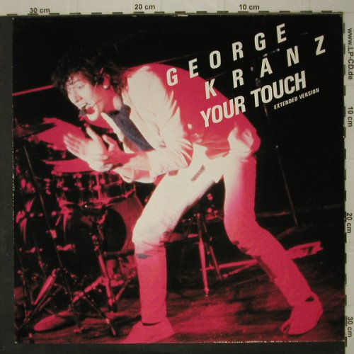 Kranz,Georg: Your Touch*2 / Waikoma, Pool(6.20346 ae), D, 1984 - 12inch - C7812 - 3,00 Euro
