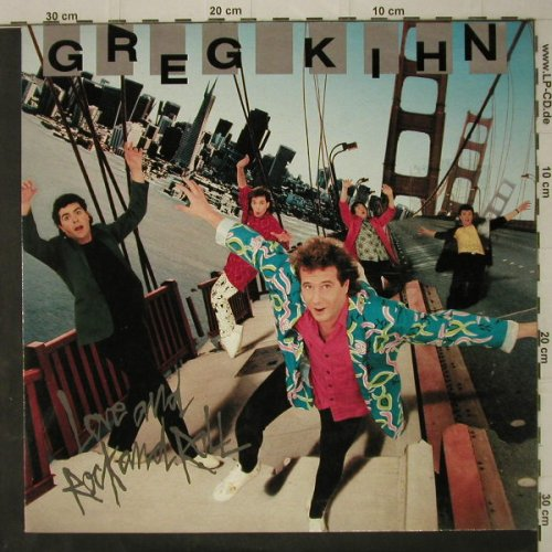 Kihn,Greg: Love And Rock And Roll, EMI Am.(24 0527 1), D, 1986 - LP - C7843 - 5,00 Euro