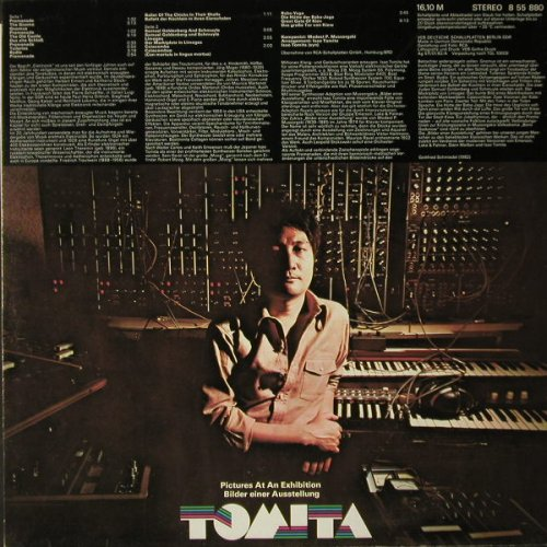 Tomita: Pictures Of An Exhibition, Amiga(8 55 880), DDR, 1982 - LP - C7853 - 5,00 Euro