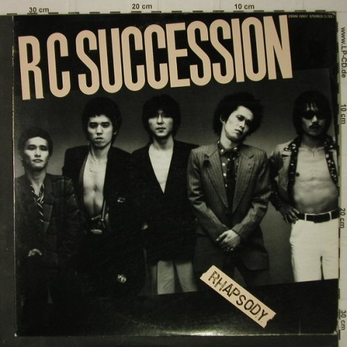 Rc Succession: Rhapsody, Kitty Rec.(28MK0001), J, 1980 - LP - C7860 - 6,00 Euro