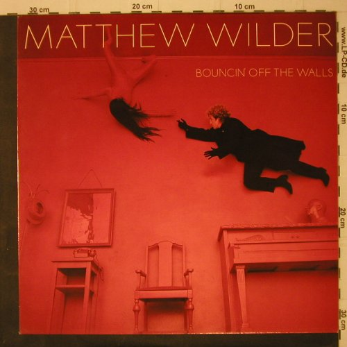 Wilder,Matthew: Bouncin'Off The Walls, Epic(26202), NL, 1984 - LP - C7867 - 5,00 Euro