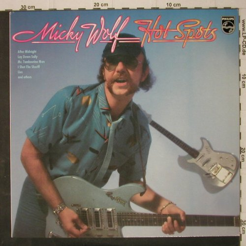Wolf,Micky: Hot Spots, Philips(6435 103), D, 1981 - LP - C7930 - 5,00 Euro