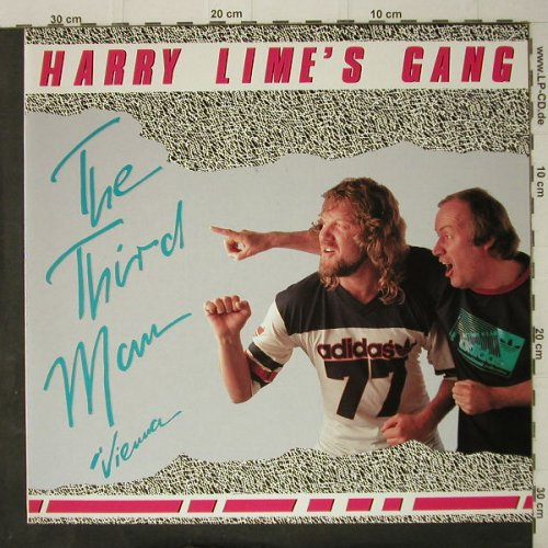 Harry Lime's Gang: The Third Man/Vienna, Hansa(608 279-213), D, 1986 - 12inch - C7934 - 1,50 Euro