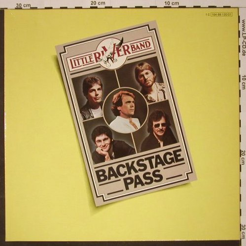 Little River Band: Backstage Pass, Foc, Capitol(164-86 120/21), D, 1980 - 2LP - C7981 - 7,50 Euro