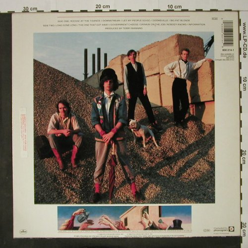 Rainmakers: Same, Mercury(830 214-1), D, 1986 - LP - C8073 - 5,00 Euro