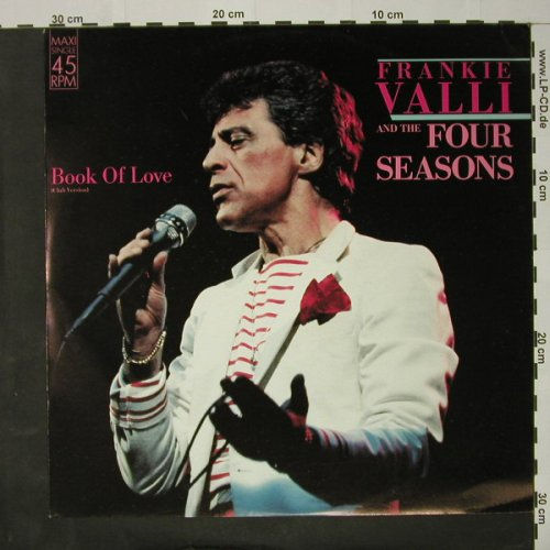 Valli,Frank & The Four Seasons: Book Of Love+2, Curb(INT 127.723), D, 1986 - 12inch - C8118 - 1,50 Euro
