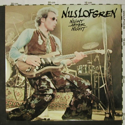 Lofgren,Nils: Night After Night, Foc, AM(LH 68439), NL, 1977 - 2LP - C8188 - 7,50 Euro