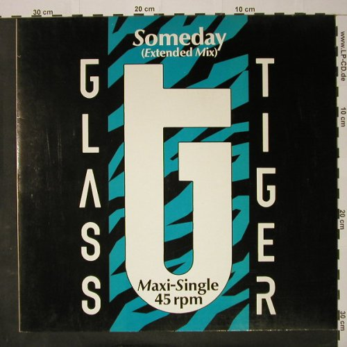 Glass Tiger: Someday*2, Manhattan(20 1570 6), EEC, 1986 - 12inch - C8214 - 3,00 Euro