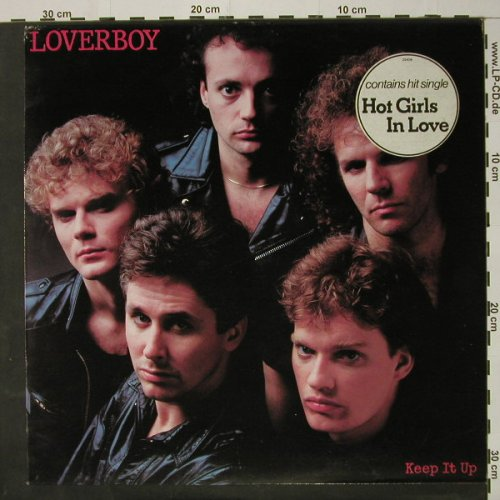 Loverboy: Keep It Up, m-/vg+, CBS(25436), NL, 1983 - LP - C8383 - 2,50 Euro
