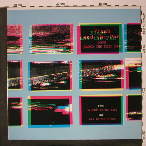 Flash & The Pan: Down Among The Dead Man+2, Ensign(815 656-1 ME), D, 1983 - 12inch - C8396 - 2,50 Euro