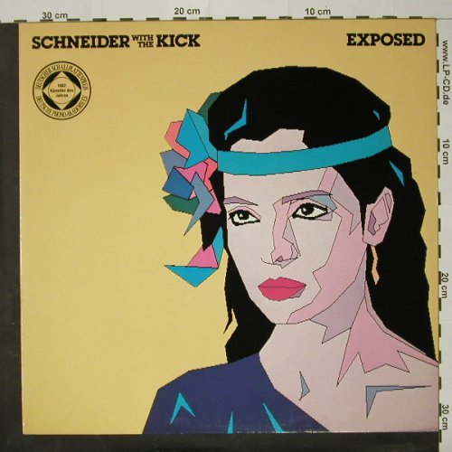 Schneider,Helen w.t.Kick: Exposed, Facts,Sticker, WEA(), D, 1982 - LP - C8403 - 6,00 Euro