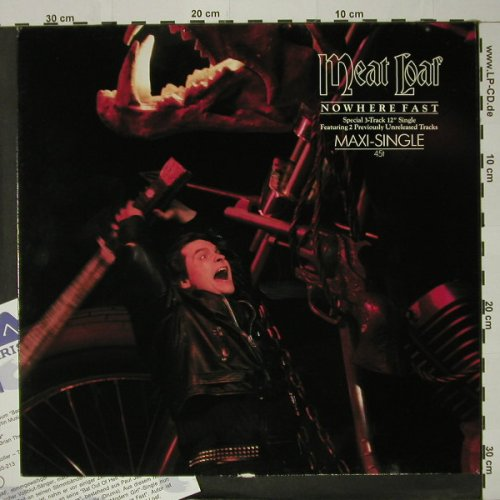 Meat Loaf: Nowhere Fast+ 2 unreleased, Arista(601 585-213), D, 1984 - 12inch - C8478 - 7,50 Euro