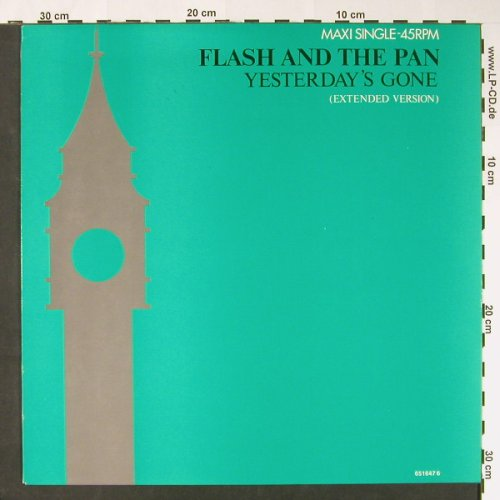 Flash & The Pan: Yesterday's Gone(ex) +1, Epic(EPC 651647 6), NL, 1988 - 12inch - C8572 - 3,00 Euro