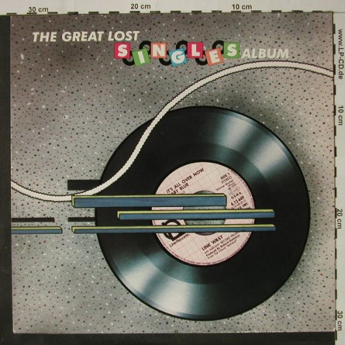 V.A.The Great Lost Singles Album: Vol.1, 16 Tr, Line(6.25774 AP), D, 1984 - LP - C8747 - 5,00 Euro
