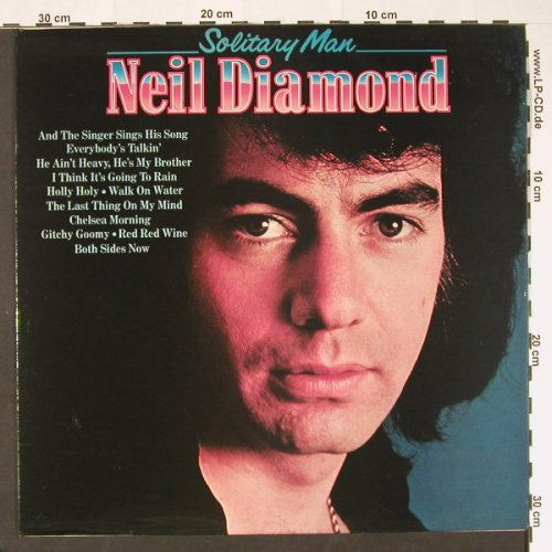Diamond,Neil: Solitary Man'72, Pickwick(SHM 3093), UK, Ri, 1981 - LP - C8949 - 3,00 Euro