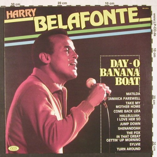 Belafonte,Harry: Day-O-Banana Boat, Joker(SM 3925), I, 1981 - LP - C8950 - 4,00 Euro