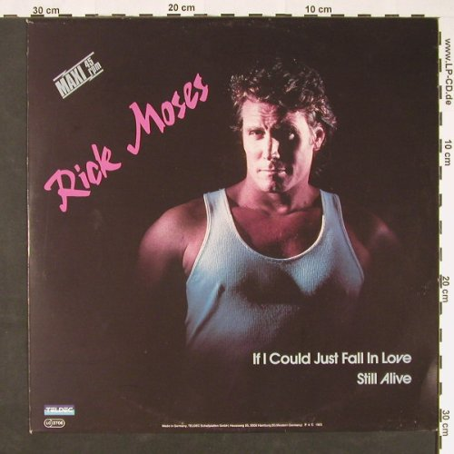 Moses,Rick: If I Could Just Fallinlove+1, Teldec(6.20516 AE), D, 1985 - 12inch - C8975 - 1,50 Euro