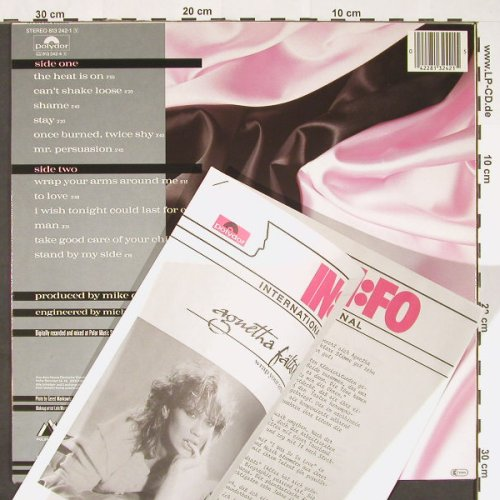Fältskog,Agnetha: Wrap Your Arms Around Me,+Facts, Polydor(813 242-1 Y), D, 1983 - LP - C8990 - 9,00 Euro