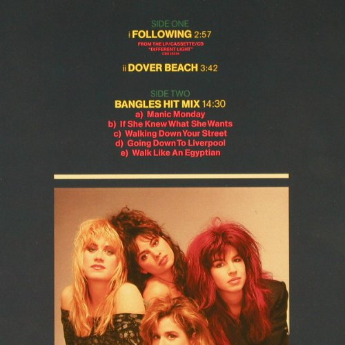 Bangles: Following+1/Bangles Hit Mix, CBS(CBS 650508 6), NL, 1987 - 12inch - C9011 - 3,00 Euro
