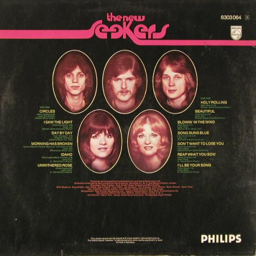New Seekers,The: Circle, Philips(6303 064), D,  - LP - C9060 - 5,00 Euro