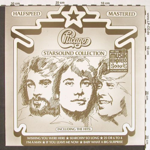 Chicago: Starsound Collection(Halfspeed), Memory/CBS(296 953-270), NL, 1983 - LP - C9077 - 5,00 Euro
