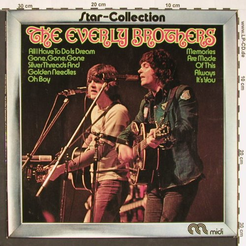 Everly Brothers: Star-Collection, Ri, Midi(MID 26 010), D, 1973 - LP - C9133 - 3,00 Euro