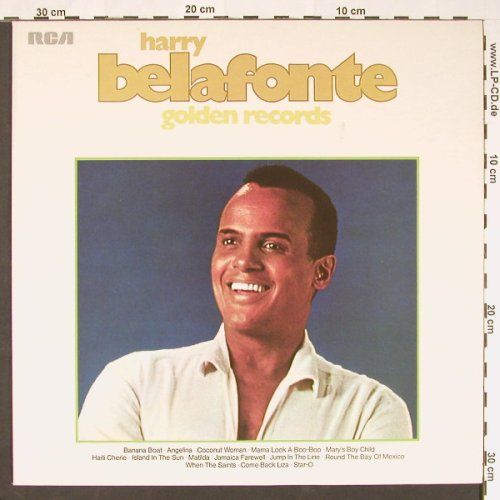 Belafonte,Harry: Golden Records-Die Grossen Erfolge, RCA(26.21110), D, 1963 - LP - C9138 - 4,00 Euro