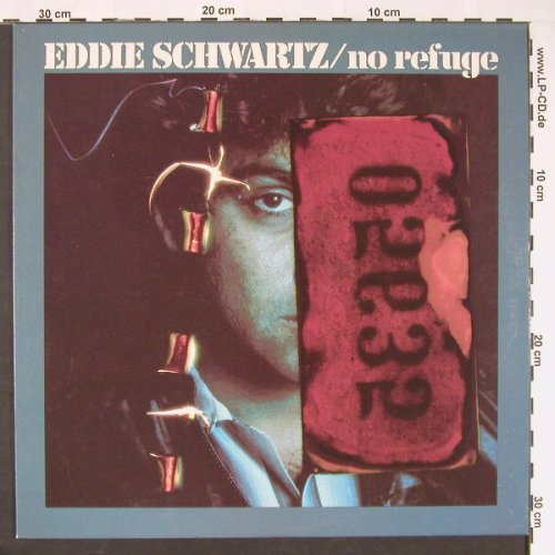 Schwartz,Eddie: No Refuge, Atco(SD38-141), US, 1981 - LP - C9199 - 9,00 Euro