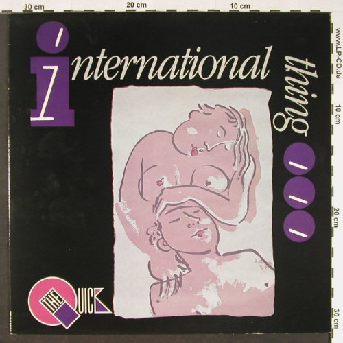 Quick (the~): International Thing, EPIC(EPC 25923), UK, 1984 - LP - C9241 - 5,00 Euro