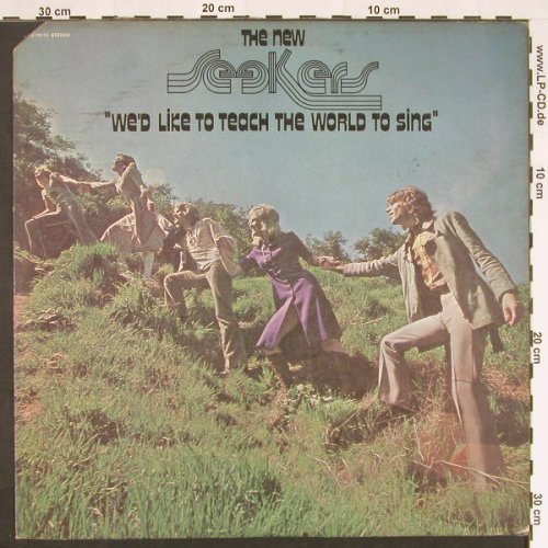 New Seekers,The: We'd Like To Teach The World,co, Elektra(EKS-74115), US, 1971 - LP - C9299 - 5,00 Euro