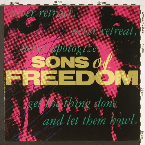 Sons Of Freedom: Same, London(828 123-1), D, 1988 - LP - C9307 - 5,00 Euro