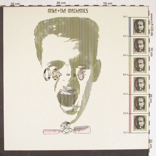 Mike & The Mechanics: Same,Facts, WEA(), D, 1985 - LP - C9367 - 5,00 Euro