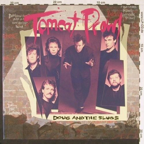 Doug And The Slugs: Tomcat Prowl, Global Satelite(209 277), D, 1988 - LP - C9416 - 5,00 Euro