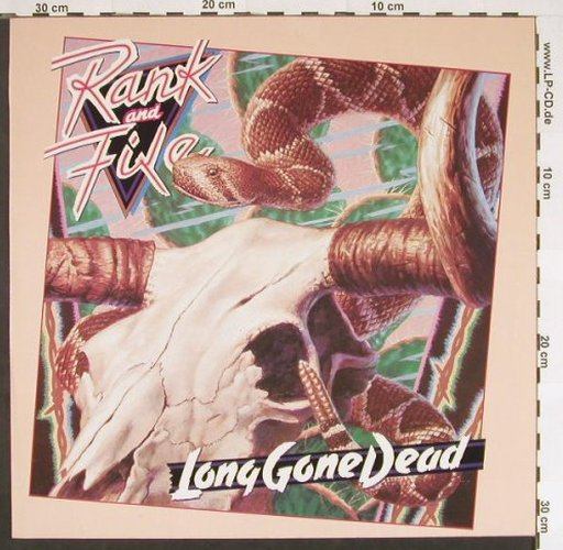 Rank and File: Long Gone Dead, Slash(820 094-1 ME), D, 1984 - LP - C9430 - 4,00 Euro