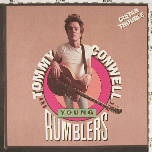 Conwell,Tommy & Young Rumblers: Guitar Trouble, CBS(467306 1), NL, 1990 - LP - C9455 - 6,00 Euro