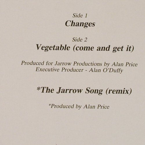 Price,Alan: Changes/Jarrow Song(re)+1, Ari(609 911), D, 1988 - 12inch - C9502 - 5,00 Euro