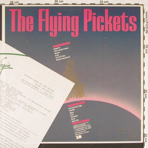 Flying Pickets: Lost Boys, 10 Rec.(206 299-620), D, 1984 - LP - C9511 - 5,00 Euro