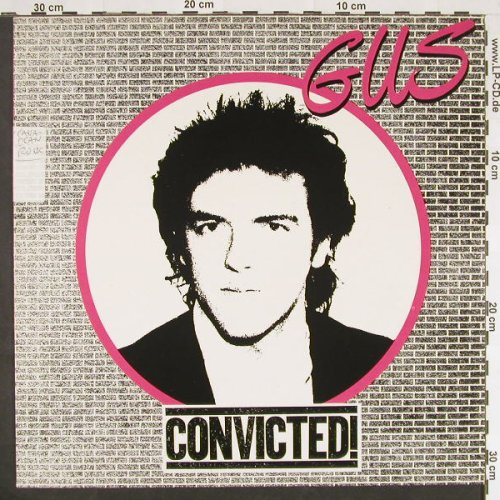 GUS: Convicted, Stoc, Woc, Wol, Epic(84422), NL, 1980 - LP - C9518 - 5,00 Euro
