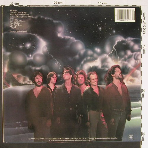 Loggins,Kenny: Keep The Fire, Columb.(PC 36172), US, 1979 - LP - C9534 - 5,00 Euro
