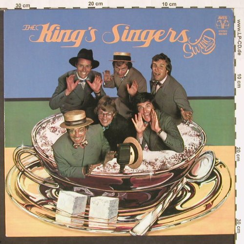 King's Singers: Swing, Aves(69.028), D, 1976 - LP - C9686 - 6,00 Euro