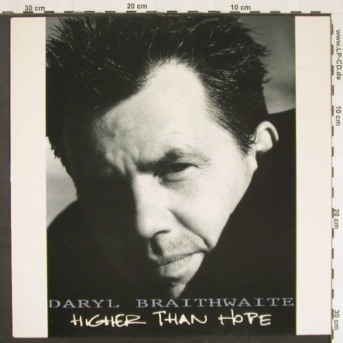 Braithwaite,Daryl: Higher Than Hope, m-/vg+, EPIC(468295 1), NL, 1991 - LP - C9773 - 3,00 Euro