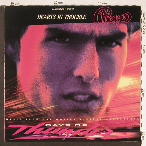 Chicago: Hearts In Trouble +2, Epic(656135 6), NL, 1990 - 12inch - C9790 - 2,50 Euro