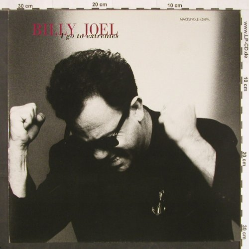 Joel,Billy: I Go To Extremes+3, CBS(655501 6), NL, 1989 - 12inch - C9801 - 3,00 Euro