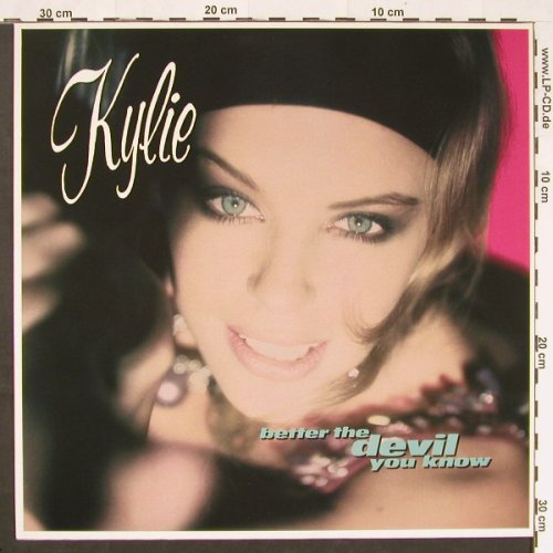 Minogue,Kylie: Better The Devil You Know+1, PWL(9031-71673-0), D, 1990 - 12inch - C9802 - 2,50 Euro