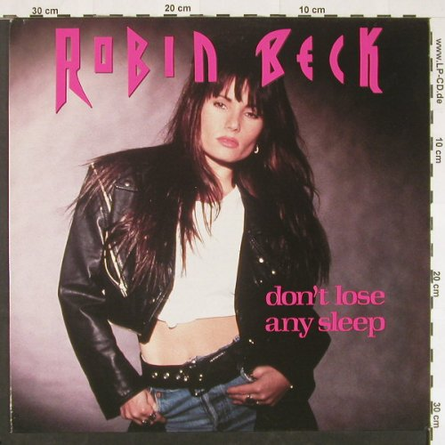 Beck,Robin: Don't Lose Any Sleep*2+1, Metron.(876695-1), D, 1989 - 12inch - C9814 - 2,50 Euro