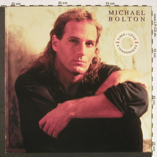 Bolton,Michael: Time,Love & Tenderness+3, Columb.(656989 6), NL, 1991 - 12inch - C9815 - 2,50 Euro